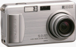 Ricoh's Caplio R2 digital camera. Courtesy of Ricoh, with modifications by Michael R. Tomkins.