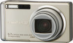 Ricoh's Caplio R30 digital camera. Courtesy of Ricoh, with modifications by Michael R. Tomkins.