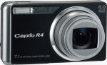 Ricoh's Caplio R4 digital camera. Courtesy of Ricoh, with modifications by Michael R. Tomkins.