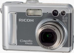 Ricoh's Caplio RR630 digital camera. Courtesy of Ricoh, with modifications by Michael R. Tomkins.