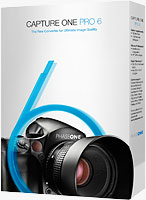 Capture One Pro 6 product packaging. Rendering provided by Phase One A/S.