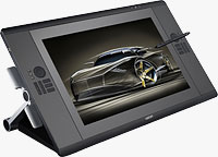 Wacom's Cintiq 24HD interactive pen display. Image provided by Wacom Technology Services Corp.