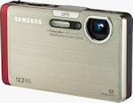 Samsung's CL65 digital camera. Photo provided by Samsung Electronics America Inc.