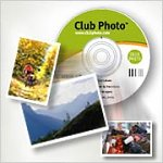 Club Photo's Album To Go CD. Courtesy of Club Photo, with modifications by Michael R. Tomkins.