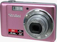 Rollei's Compactline 360 TS digital camera. Photo provided by Rollei GmbH.