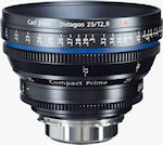 Compact Prime CP.2 25mm lens. Photo provided by Carl Zeiss AG.