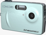 Concord's 5042 digital camera. Courtesy of Concord, with modifications by Michael R. Tomkins.