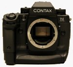 Contax's N Digital SLR digital camera. Copyright &copy 2002, Michael R. Tomkins, all rights reserved.