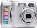 Nikon's Coolpix 3200 digital camera. Copyright © 2004, The Imaging Resource. All rights reserved.