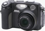 Nikon's Coolpix 5400 digital camera. Copyright © 2003, The Imaging Resource. All rights reserved.
