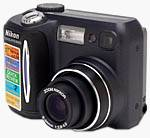 Nikon's Coolpix 885 digital camera. Copyright (c) 2001, The Imaging Resource. All rights reserved.