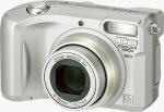Nikon's Coolpix 4800 digital camera. Courtesy of Nikon, with modifications by Michael R. Tomkins.