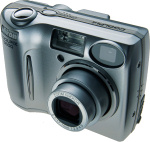 Nikon's Coolpix 5600 digital camera. Courtesy of Nikon, with modifications by Michael R. Tomkins.