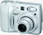 Nikon's Coolpix 7600 digital camera. Courtesy of Nikon, with modifications by Michael R. Tomkins.