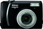 Nikon's Coolpix L1 digital camera. Courtesy of Nikon, with modifications by Michael R. Tomkins.