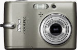 Nikon's Coolpix L11 digital camera. Courtesy of Nikon, with modifications by Michael R. Tomkins.