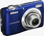 Nikon's Coolpix L22 digital camera. Photo provided by Nikon Inc.