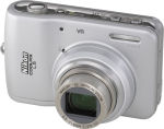 Nikon's Coolpix L5 digital camera. Courtesy of Nikon, with modifications by Michael R. Tomkins.