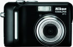 Nikon's Coolpix P1 digital camera. Courtesy of Nikon, with modifications by Michael R. Tomkins.