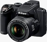 Nikon's Coolpix P500 digital camera. Photo provided by Nikon Inc.