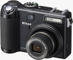 Nikon's Coolpix P5100 digital camera. Courtesy of Nikon, with modifications by Michael R. Tomkins.