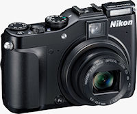 Nikon's Coolpix P7000 digital camera. Photo provided by Nikon Inc.