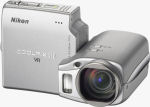 Nikon's Coolpix S10 digital camera. Courtesy of Nikon, with modifications by Michael R. Tomkins.