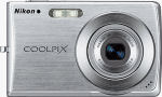Nikon's Coolpix S200 digital camera. Courtesy of Nikon, with modifications by Michael R. Tomkins.