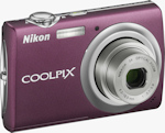 Nikon's Coolpix S220 digital camera. Photo provided by Nikon Inc.