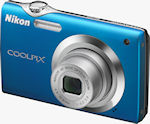 Nikon's Coolpix S3000 digital camera. Photo provided by Nikon Inc.