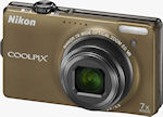 Nikon's Coolpix S6000 digital camera. Photo provided by Nikon Inc.