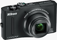 Nikon's Coolpix S8100 digital camera. Photo provided by Nikon Inc.