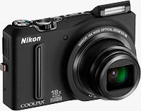 Nikon's Coolpix S9100 digital camera. Photo provided by Nikon Inc.