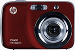 Hewlett Packard's CW450 digital camera. Photo provided by Hewlett Packard Development Company L.P.