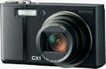 Ricoh's CX1 digital camera. Photo provided by Ricoh.