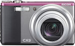 Ricoh's CX3 digital camera. Photo provided by Ricoh.