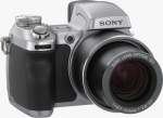 Sony's Cyber-shot DSC-H1 digital camera. Courtesy of Sony, with modifications by Michael R. Tomkins.
