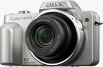 Sony's Cyber-shot DSC-H3 digital camera. Courtesy of Sony, with modifications by Michael R. Tomkins.