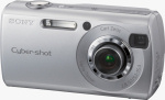 Sony's Cyber-shot DSC-S40 digital camera. Courtesy of Sony, with modifications by Michael R. Tomkins.
