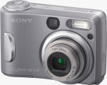 Sony's Cyber-shot DSC-S60 digital camera. Courtesy of Sony, with modifications by Michael R. Tomkins.