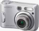 Sony's Cyber-shot DSC-S90 digital camera. Courtesy of Sony, with modifications by Michael R. Tomkins.