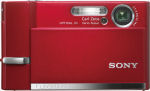 Sony's Cyber-shot DSC-T50 digital camera. Courtesy of Sony, with modifications by Michael R. Tomkins.