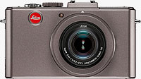 Leica's D-Lux 5 Titanium. Photo provided by Leica Camera AG.