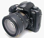 Nikon's D100 digital camera. Copyright © 2002, The Imaging Resource.  All rights reserved.