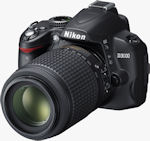 Nikon's D3000 digital SLR. Photo provided by Nikon Inc.