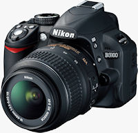 Nikon D3100 digital SLR. Photo provided by Nikon Inc.