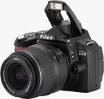 Nikon's D40 digital SLR. Copyright � 2006, The Imaging Resource. All rights reserved.
