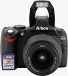 Nikon's D40 digital SLR. Copyright © 2006, The Imaging Resource. All rights reserved.