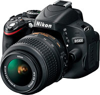 Nikon's D5100 digital SLR. Photo provided by Nikon Inc.