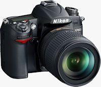 Nikon's D7000 digital SLR. Photo provided by Nikon Inc.